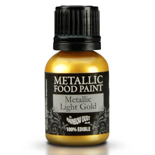peinture metallique alimentaire dore jaune