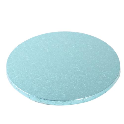 cake drum rond bleu