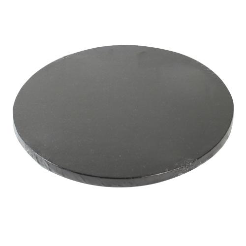 cake drum noir rond