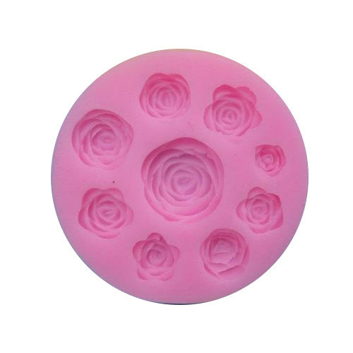 moule silicone roses tailles